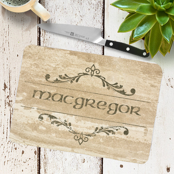 Custom Personalized Glass Cutting Board