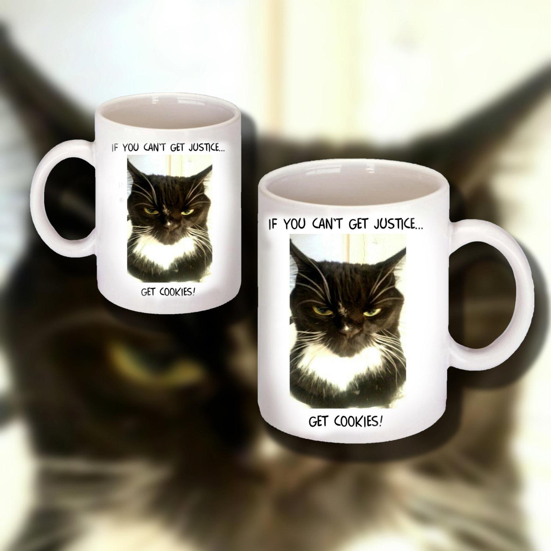 "Funny Cat Design on 11 0z. Ceramic Coffee Mug  ""Great Gift Item"""