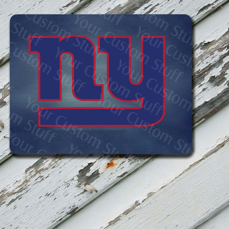 Mousepad New York Giants Design on Mousepad