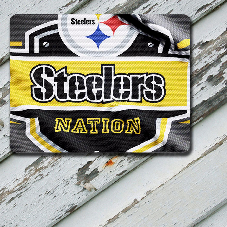 Mousepad Pittsburgh Steelers Nation Flag Design on Mousepad