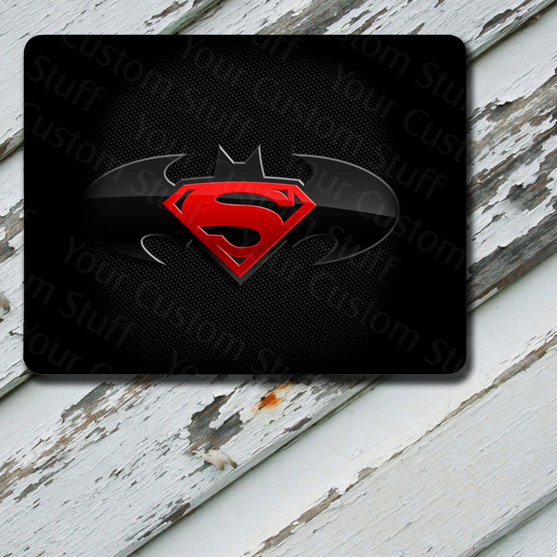 Mousepad Superman Batman Design on Mousepad