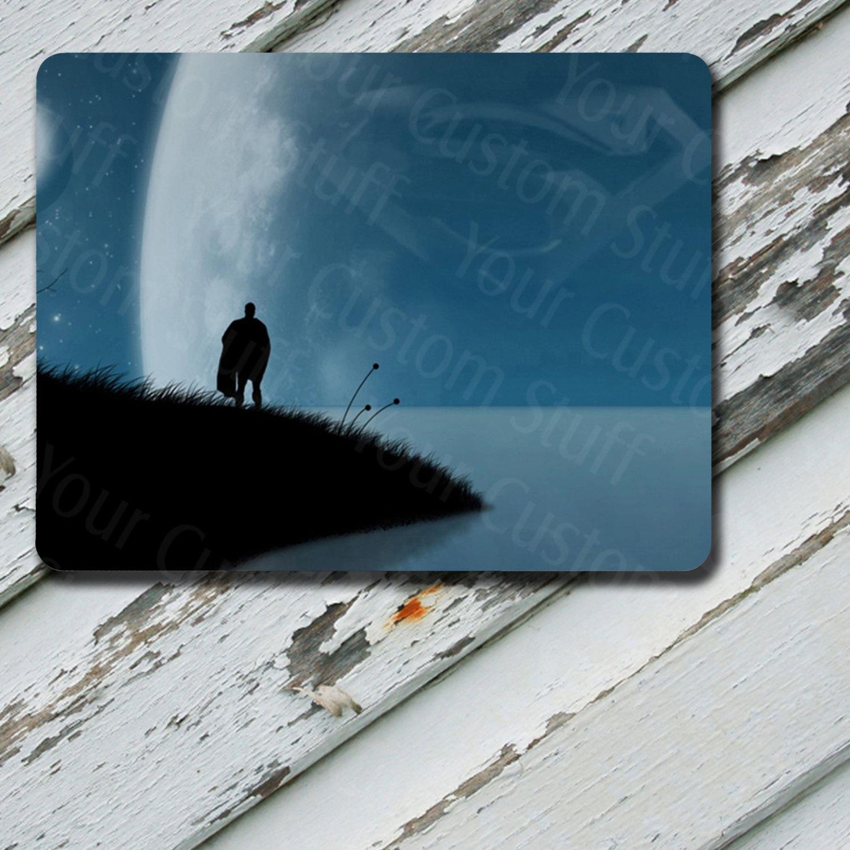 Mousepad Superman Blue Sky Design on Mousepad