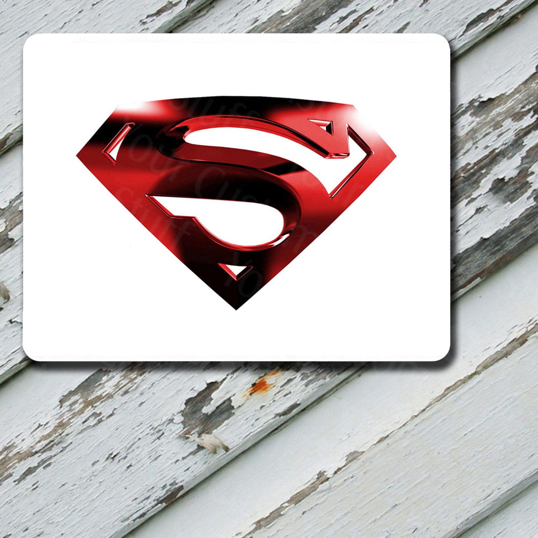 Mousepad Superman Red Horizontal Design on Mousepad