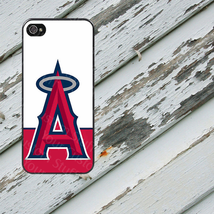 big sale 63fff 85aa6 Anaheim Angels Design on iPhone 5/5s/5c/6/6 Plus/7/7 Plus/8/8 Plus Rubber  Silicone Case